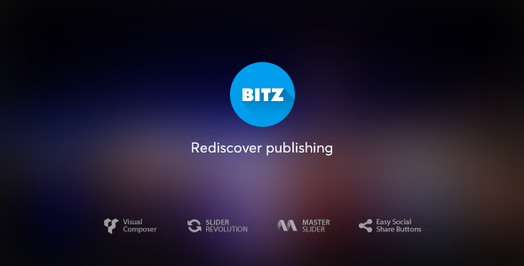 Bitz v1.0.7 - News & Publishing Theme