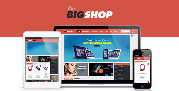 BigShop v2.0.1 - WooCommerce Responsive WordPress Theme