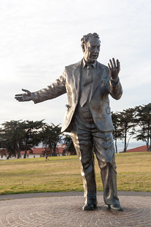 Phillip Burton Statue