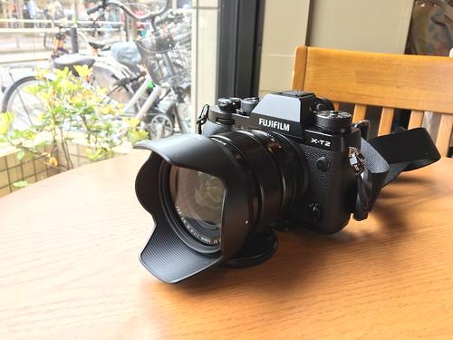 X-T2 & XF 16mm R WR