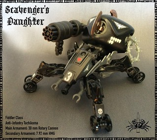 'Scavenger's Daughter' Tachikoma