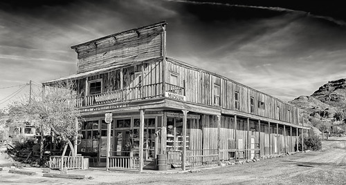 arizona architecture landscape unitedstates state places ghosttown oldbuilding montains citys oatman mohavecounty blackmnts