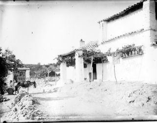 Una venta de Toledo. Probable foto de Pedro Román. Fondo Rodríguez. AHPT, JCCm signatura Album4-1663