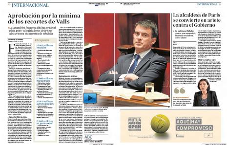 14d30 AN aprueba 50 000 millones recortes Valls