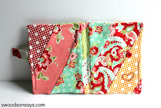 Quilted Needle Book - Swoodson Says