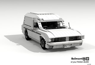 Holden HK Belmont Panel Van