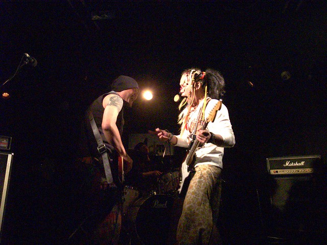 SPUTNIK KOMBINAT live at Adm, Tokyo, 18 Apr 2014. 006