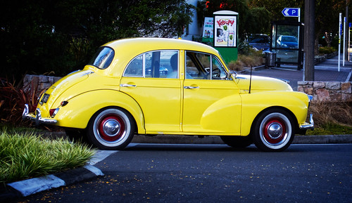 Morris Minor, Taupo, New Zealand