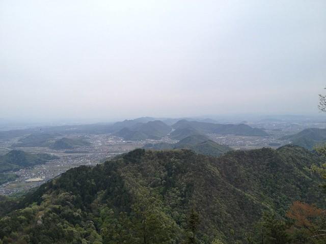 百々ヶ峰 山頂からの眺望 各務原アルプス方面