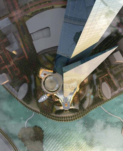 王國塔Kingdom Tower 高1000米 沙烏地阿拉伯將建世界第一高樓