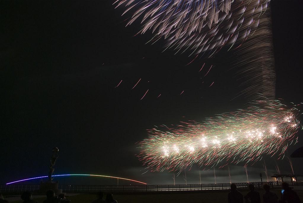 2014海上花火