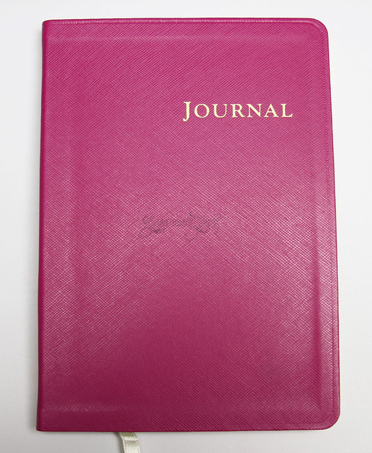 Review: @Gallery_Leather Key West Desk Ruled Journal - Honeysuckle