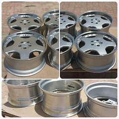 #For#Sale#Used#Parts#Mercedes#Benz#18'#OEM#Genuine#AMG#2Piece#Split#Rims#BBS#Wheel#Rim#R129#SLs#alyehliparts#alyehli#UAE#AbuDhabi#AlFalah#City  MERCEDES BENZ OEM USED PARTS - Set For Four Genuine AMG 18' Wheels/Rims R129 SLs - Two Pieces Split Rims Fron