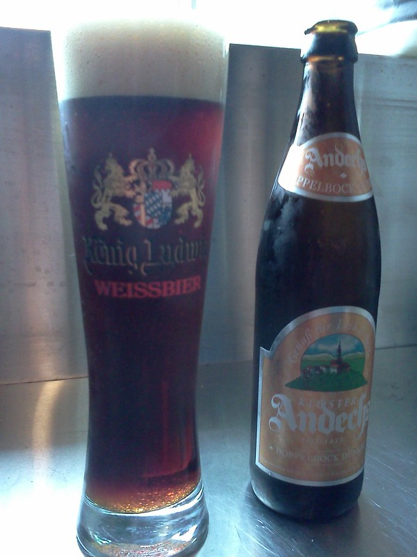 Mmmmm, Andechs Doppelbock -- nectar of the gods