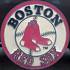 Bost Red Sox - squared circle by Monceau
