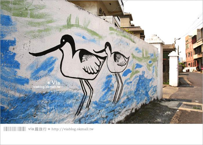 【彰化景點推薦】乳牛彩繪村(福寶村)~數百頭彩色小牛+夢幻藍晒圖的彩色村17