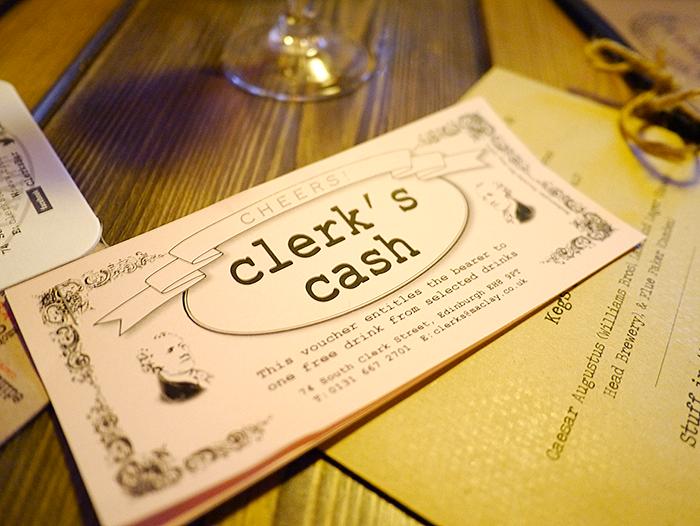 clerks bar edinburgh 4