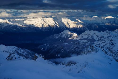leica blue italy white mountains alps fog clouds sunrise sony hauteroute 12890 a7r teleelmarit90 teleelmaritm rifugioguidedelcervino ilce7r