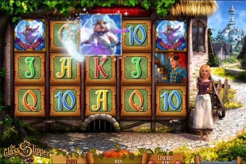 The Glass Slipper - Fairytale Progressive Slot