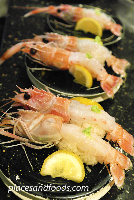 sushi rio scampi