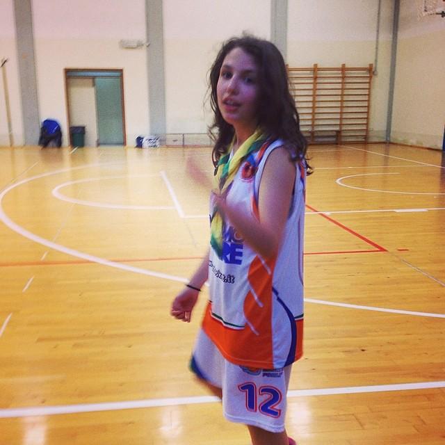 Prima il San Giorgio e poi a giocare non ci ferma nessuno! #basket #basketfemminile #aicsbasket #aicsforli #scuots #sangiorgio #forli10 #scout