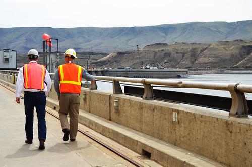 Wanapum Lake Dam Visited The Wanapum Dam to