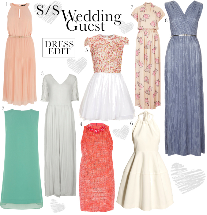 wedding guest dress edit