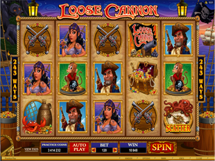 Loose Cannon Slot Machine