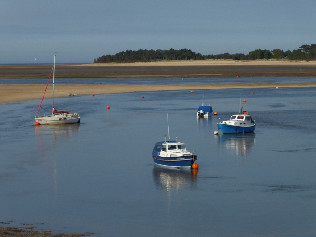 34 Wells channel at low tide