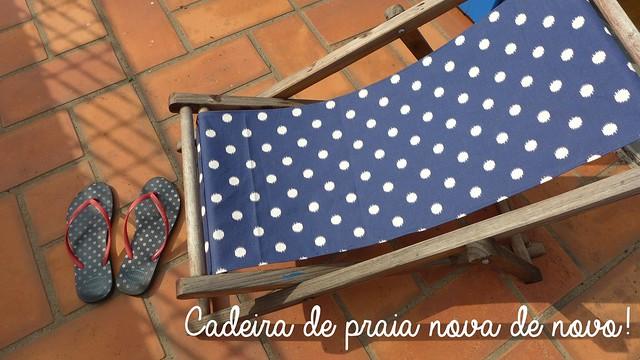 Cadeira com novo tecido