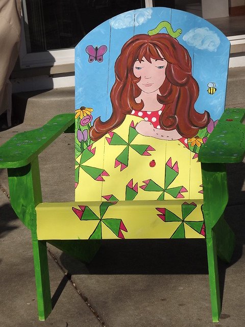 Painted Chair 1