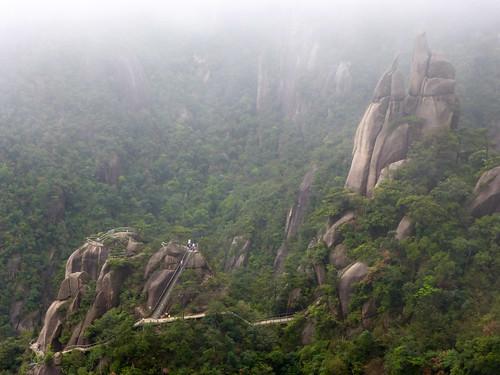 Jiangxi-Sanqing Shan-1 sentier de l'est (38)