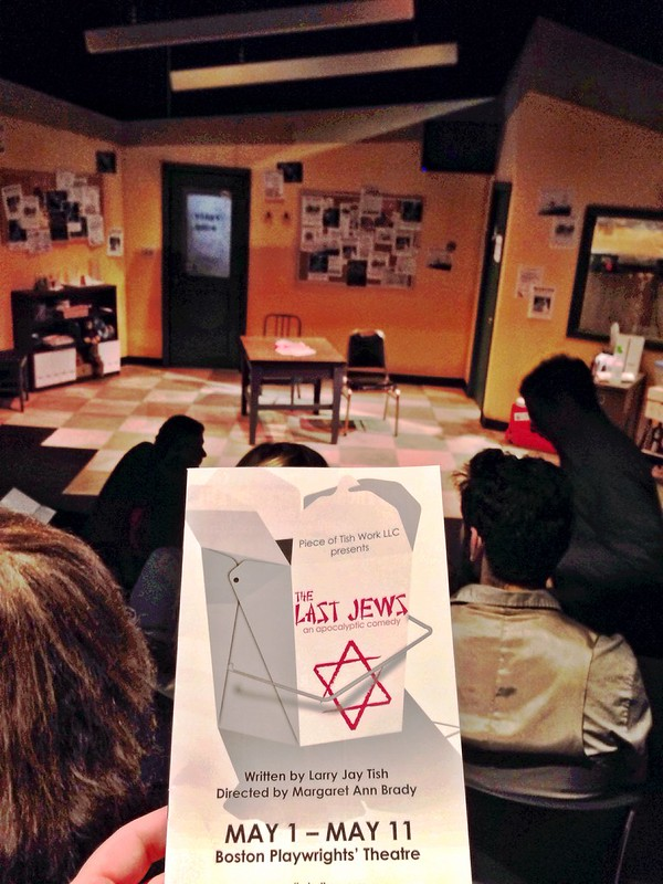 Opening night for The Last Jews: An Apocalyptic Comedy. #theater #Boston