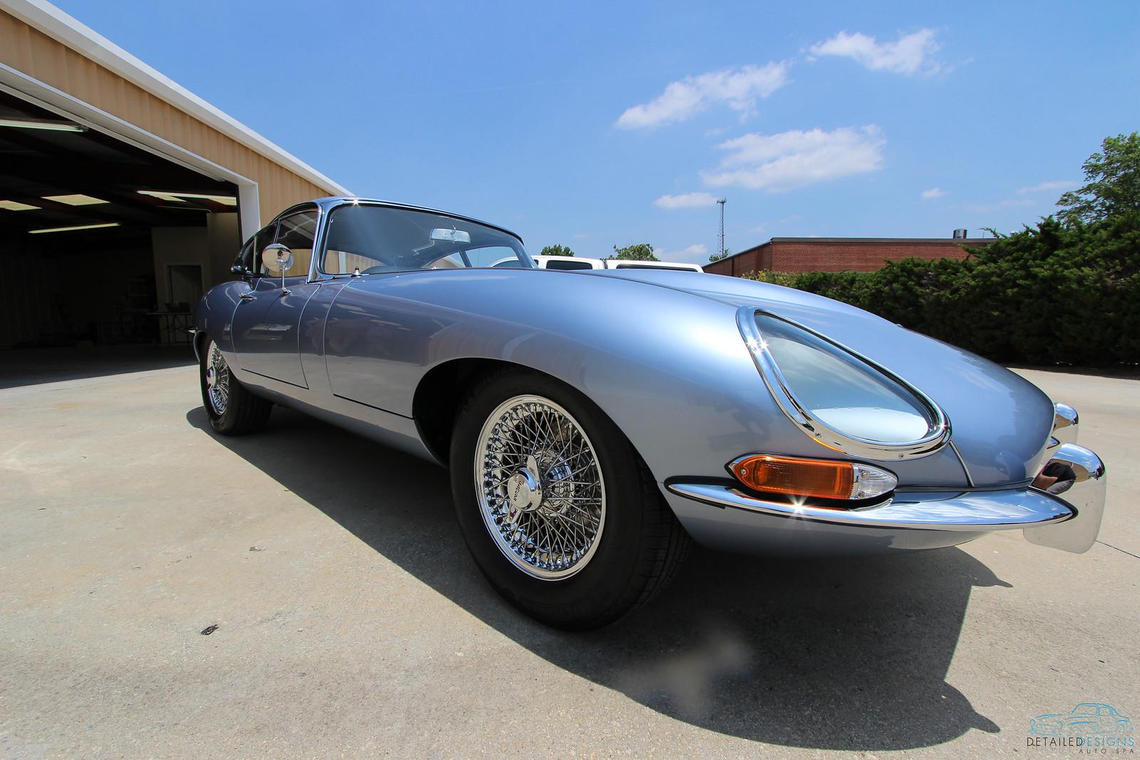 Jaguar E-type Concours d'Elegance Detailed Designs Auto Spa