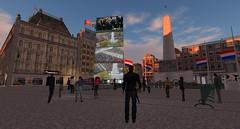 Nationale Dodenherdenking Amsterdam Sim 2014, SL