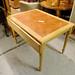Terracotta tiled table