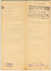 IV/5.a. Zsidók telefonjainak leszerelése. 1944. márc. 30.