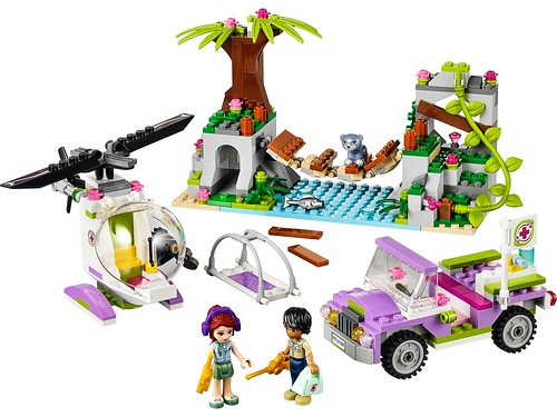 41036 Jungle Bridge Rescue