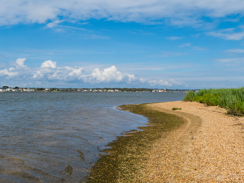 View towards Mudeford Quay
