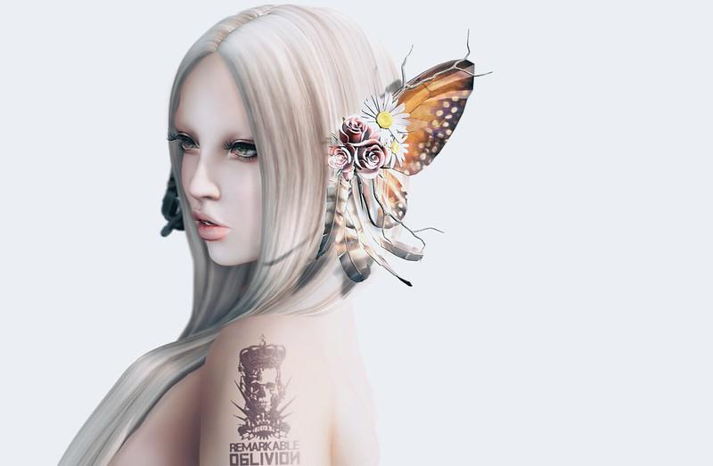 *NEW* RO- Papillon Ear wings