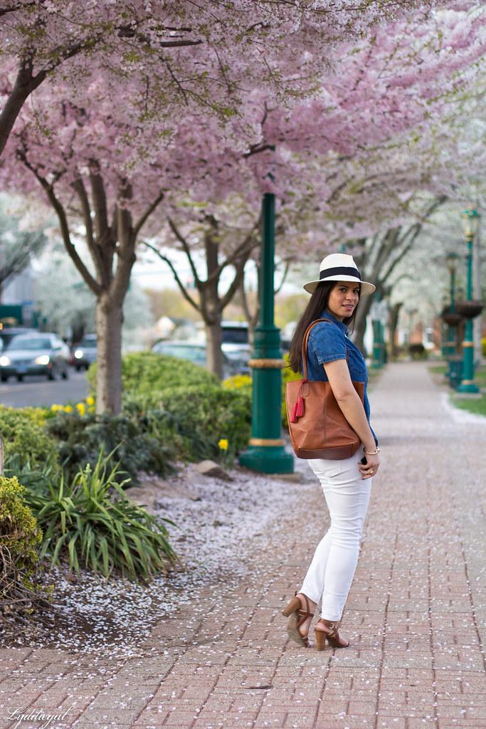white jeans, chambray shirt, panama hat-2.jpg