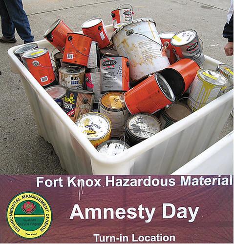 Fort Knox Amnesty Day
