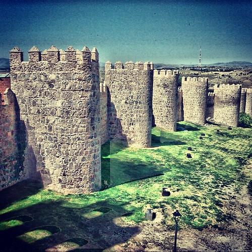 #Avila #murallas #fort