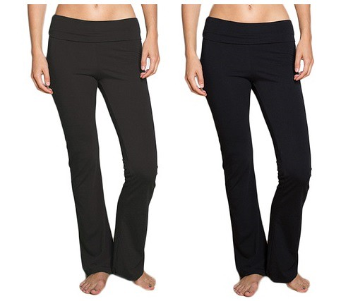 Women's Foldover Yoga Pants $9.99 From Groupon!