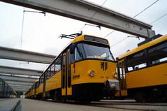 Tatra T4D 224 261 im Betriebshof Trachenberge