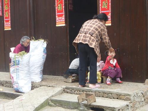 Jiangxi-Longhu Shan-2 Shangqing-village (14)