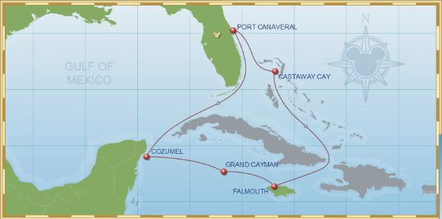 Western Caribbean Itinerary C