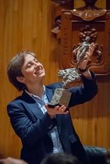 Carmen Aristegui recibe el galardón 'Corazón de León' ⑪