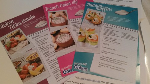 Onken recipe cards