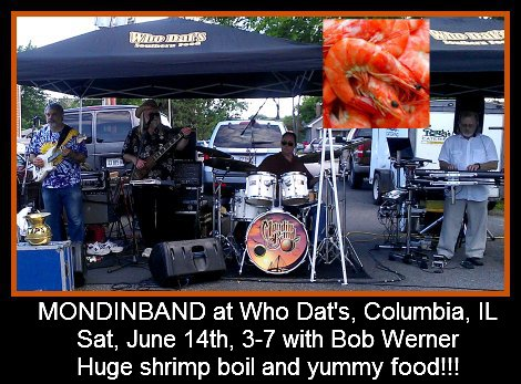 Mondinband at Who Dat's